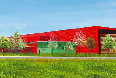 Coudray-Montceaux : Panhard loue une plateforme logistique de 30 500 m2 à Rhénus